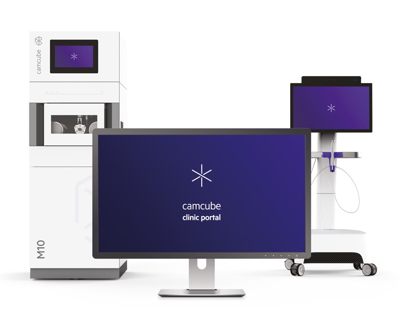 CAMCube M10 for chairside fabrication